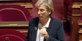 Séance de questions cribles au Sénat sur les accords de libre-échange: ma question au gouvernement