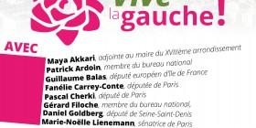 Lundi 9 mars à 19H30 à la Bellevilloise réunion Vive la Gauche Paris