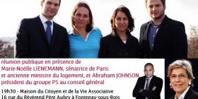 Je participerai le 5 mars à une réunion de soutien pour les départementales à Laure Herbert et Florian James