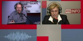 Marie-Noëlle Lienemann sur RTS lundi 30 janvier 2017