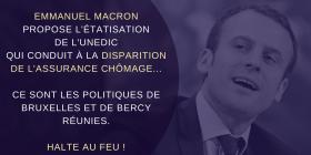 Les propositions d'Emmanuel Macron vers un démantèlement de l'assurance-chômage