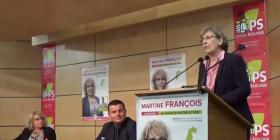 Réunion publique de soutien à Martine François, candidate socialiste dans la 1ère circonscription des Vosges