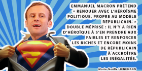 Macron dans Le Point : platitudes, mensonges,
