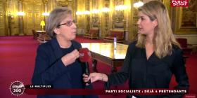 Pour un PS républicain, écologiste et antilibéral, avec Emmanuel Maurel - Public Sénat