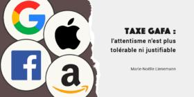 Taxe GAFA : c'est possible immédiatement en votant à l'Assemblée Nationale la disposition votée le 28 novembre au Sénat