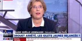 LCI Midi le jeudi 3 janvier 2019 à propos de l'arrestation d'Eric Drouet