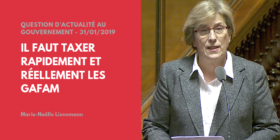 Question d'actualité au Gouvernement :