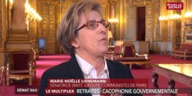 Retraites : une réforme sous haute tension - Public Sénat - lundi 25 mars 2019