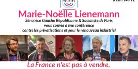 La France n'est pas à vendre, agissons contre les privatisations ! - conférence du 5 mars 2019