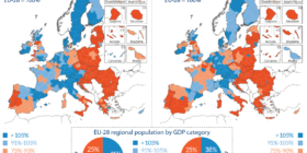 Inégalités territoriales, appauvrissement massif, conséquences des politiques libérales européennes