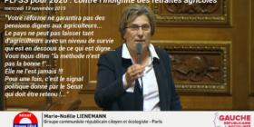 PLFSS 2020 : contre l'indignité du niveau des retraites agricoles - mercredi 13 novembre 2019