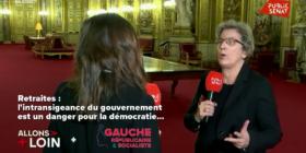 Retraites : l'intransigeance du gouvernement dangereuse démocratiquement - Public Sénat (16/12/2019)