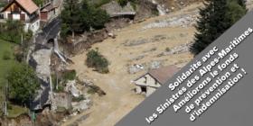 Solidarité avec les sinistrés et habitants des Alpes-Maritimes